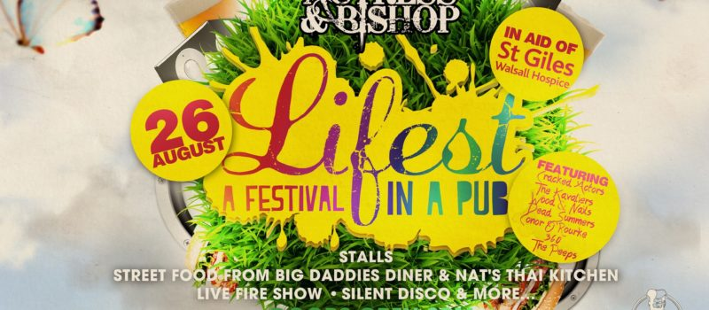 Lifest is back: 26th August 2018