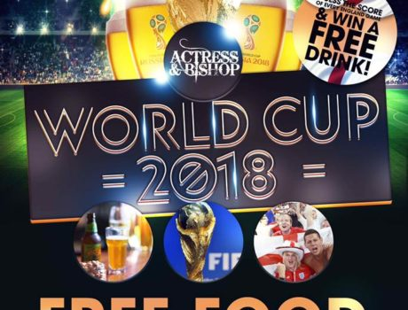 JOIN US FOR THE World CUP 2018