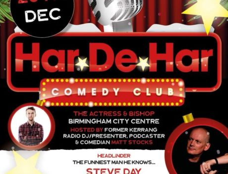 """CHRISTMAS COMEDY CLUB AT THE A&B! """"Quite Frankly, BRILLIANT!"""""""