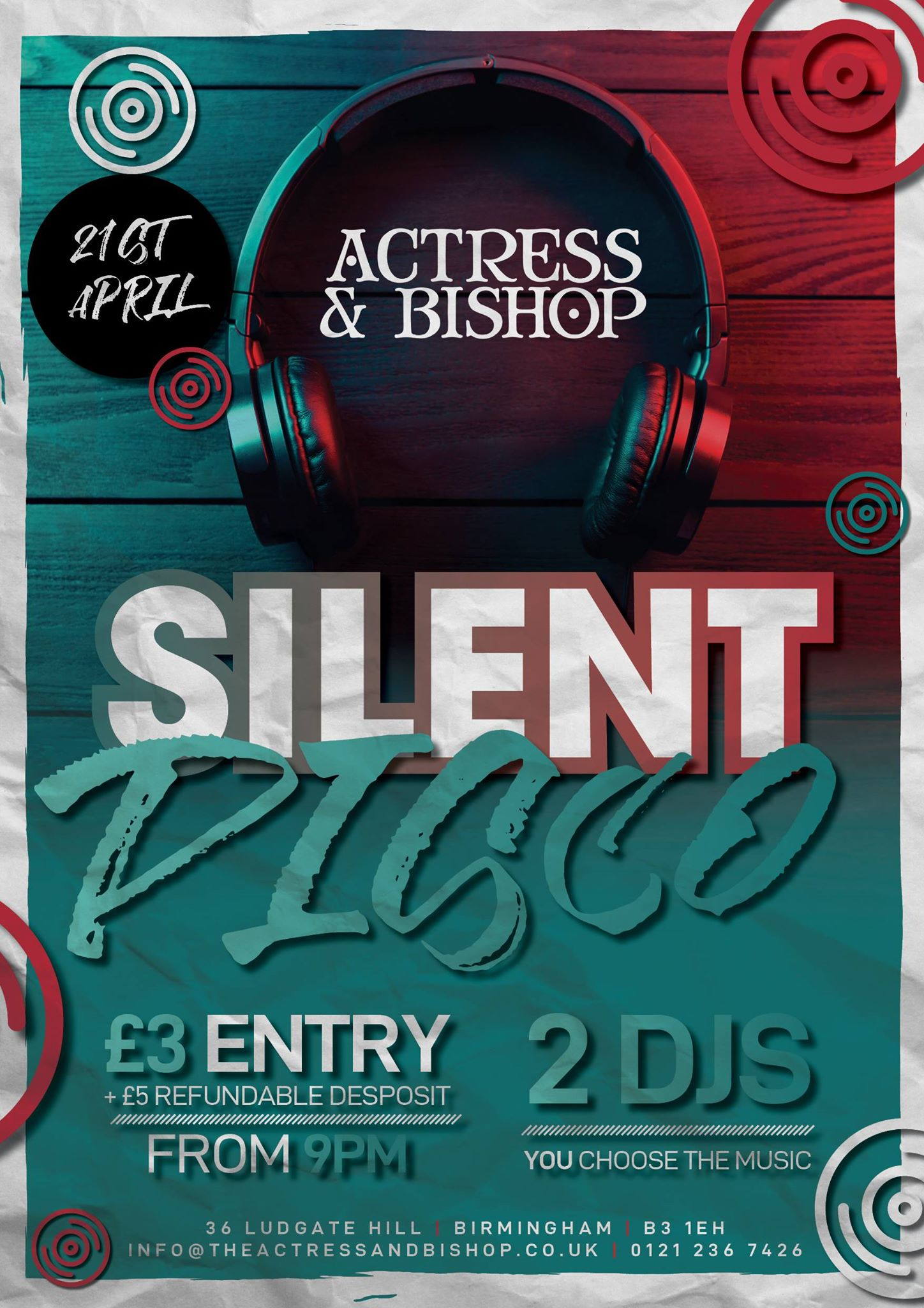 SILENT DISCO IS BACK…