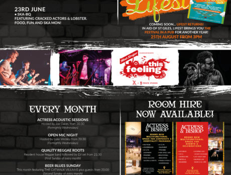 WHAT'S ON THIS JUNE…