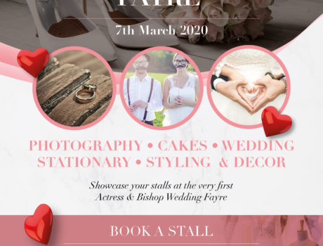 WEDDING FAYRE – MARCH 7TH 2020