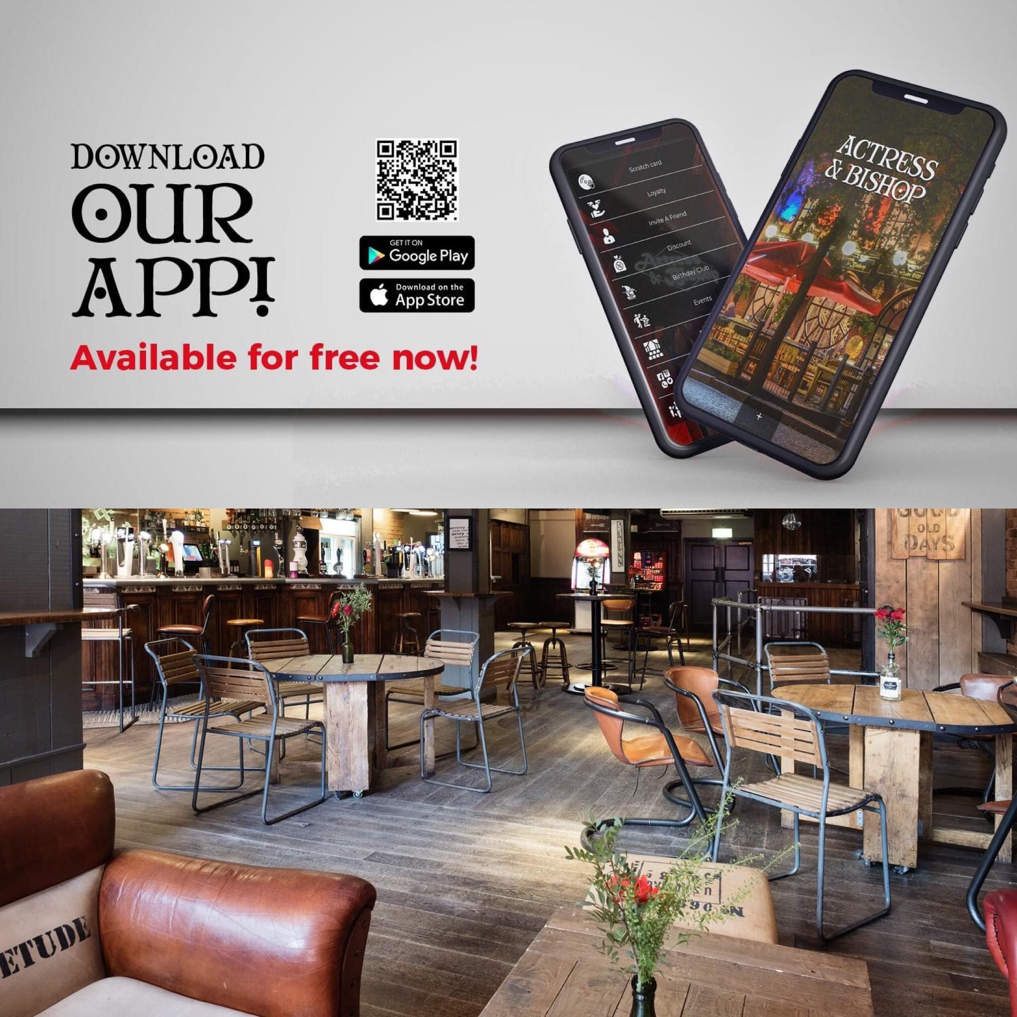 BOOK YOUR TABLE AT THE ACTRESS…