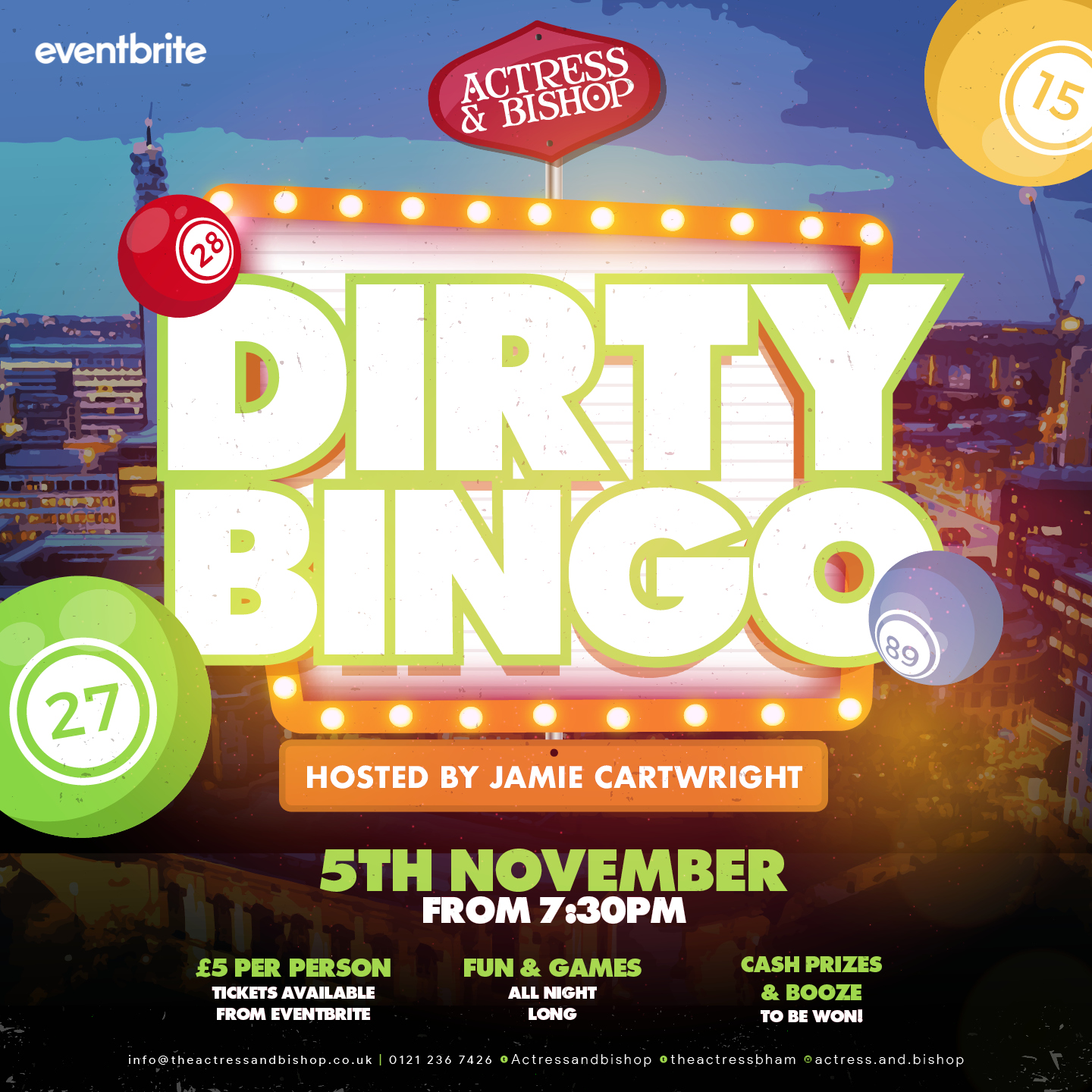 DIRTY BINGO IS BACK!