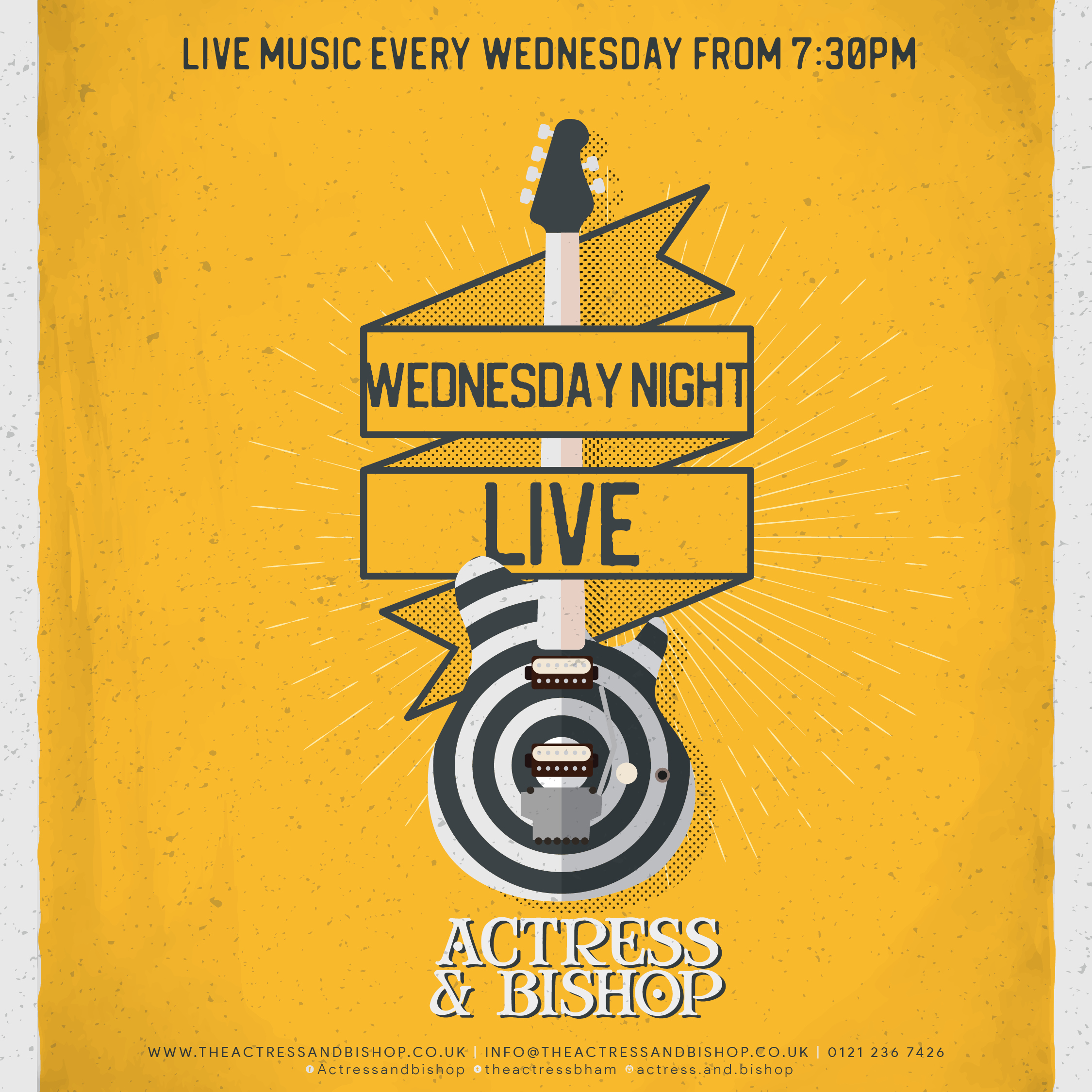 LIVE MUSIC RETURNS TO THE A&B
