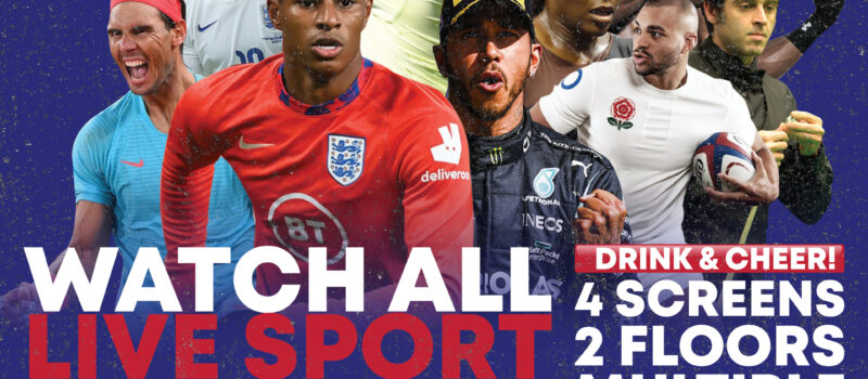 NOW SHOWING ALL MAJOR SPORTS FIXTURES